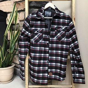 Men's Electric plaid jacket/shirt
